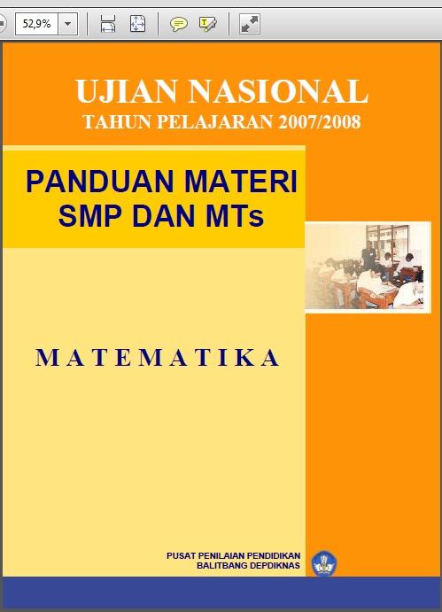 Ringkasan Materi Un Smp 2010 Bank Soal Ujian