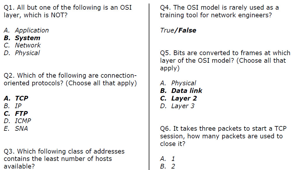 Ccna Question And Answer 1 Soalujian Net