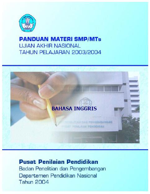 Materi Soal Dan Pembahasan Ujian Nasional Un Smp 2004 Soalujian Net