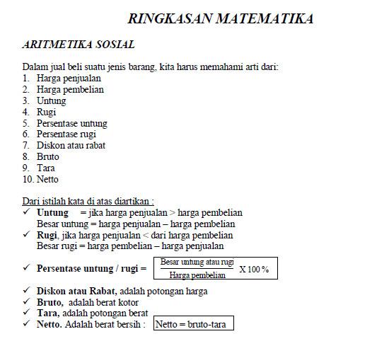 Contoh Soal Matematika Smp Bank Soal Ujian