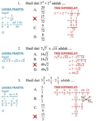 Soal Dan Pembahasan Un Matematika Smp 2013 Soalujian Net