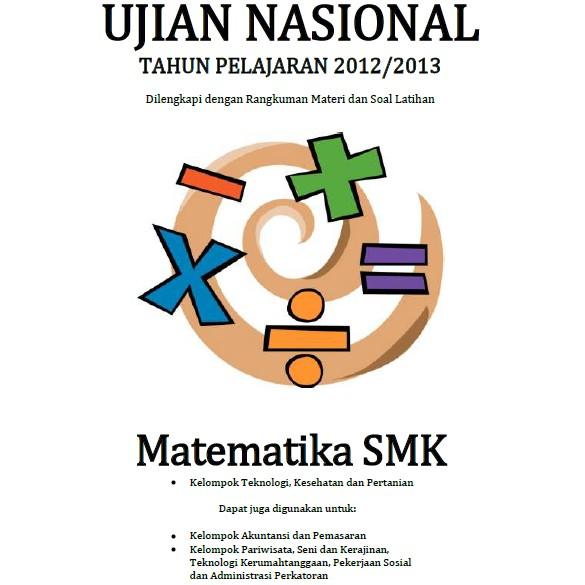 Materi Dan Soal Persiapan Ujian Nasional Matematika Smk Soalujian Net