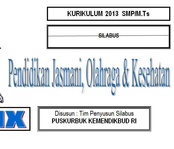 Silabus Smp Kurikulum 2013 Bank Soal Ujian